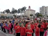 Ранкова «Олімпійська зарядка» на Центральній площі Ірпеня