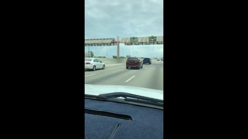 Driving through tolls in Florida