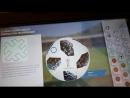 Экспозиция музея мирового футбола FIFA в галерее Hyundai Motorstudio