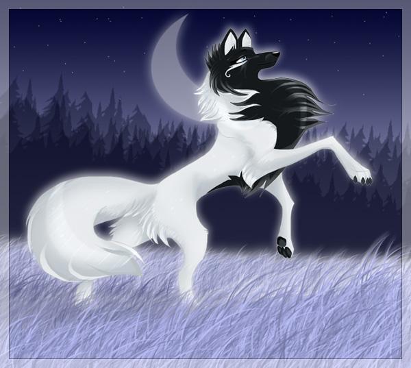 Мультяшные волки ツ