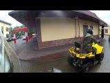 Stels ATV 800 D жжет резину
