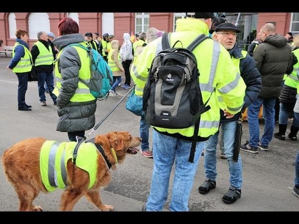 Karlsruhe Gelbwesten stehen auf Linke versuchen Unterwanderung