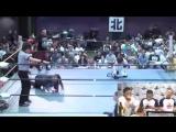 GUNSO, KABUKI KID vs. Yuki Aoki, Kohei Kinoshita (Kansai Pro-Wrestling Collection ver. 2)