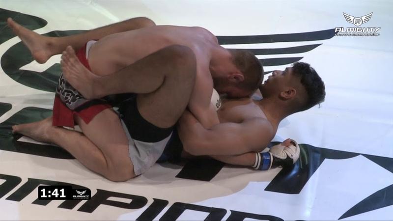 Almighty Fighting Championship 6 - Jabeed Rahman v Emil Niedzwiecki