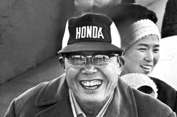Японский гений  Соитиро Хонда.