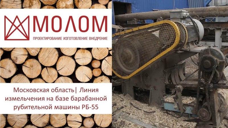 Московская область| Линия измельчения древесных отходов| ЛП-ГОРБЫЛЬ
