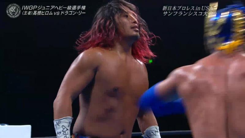 Хирому Такахаши vs. Драгон Ли — ИВГП Джуниор Хэвивейт Чемпионшип