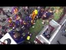 Recta final Valverde i algú més perden les sabates Rua de campions del @FCBarcelona cat 7heChamp10ns ️La podeu segui
