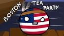 Boston tea party - Countryballs