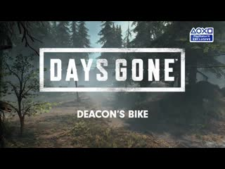 Days gone | deacons bike | ps4