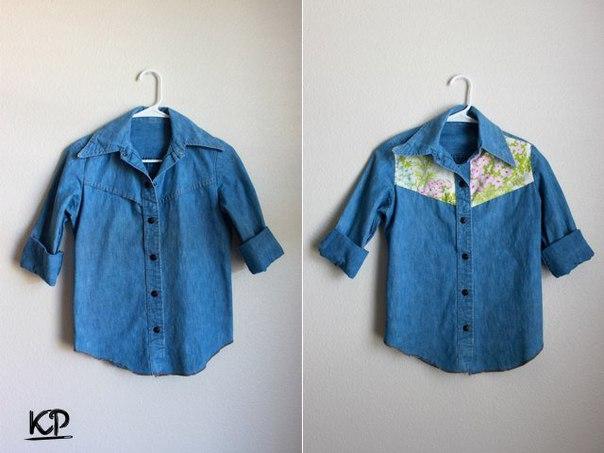 Декор рубашки (8 фото)
