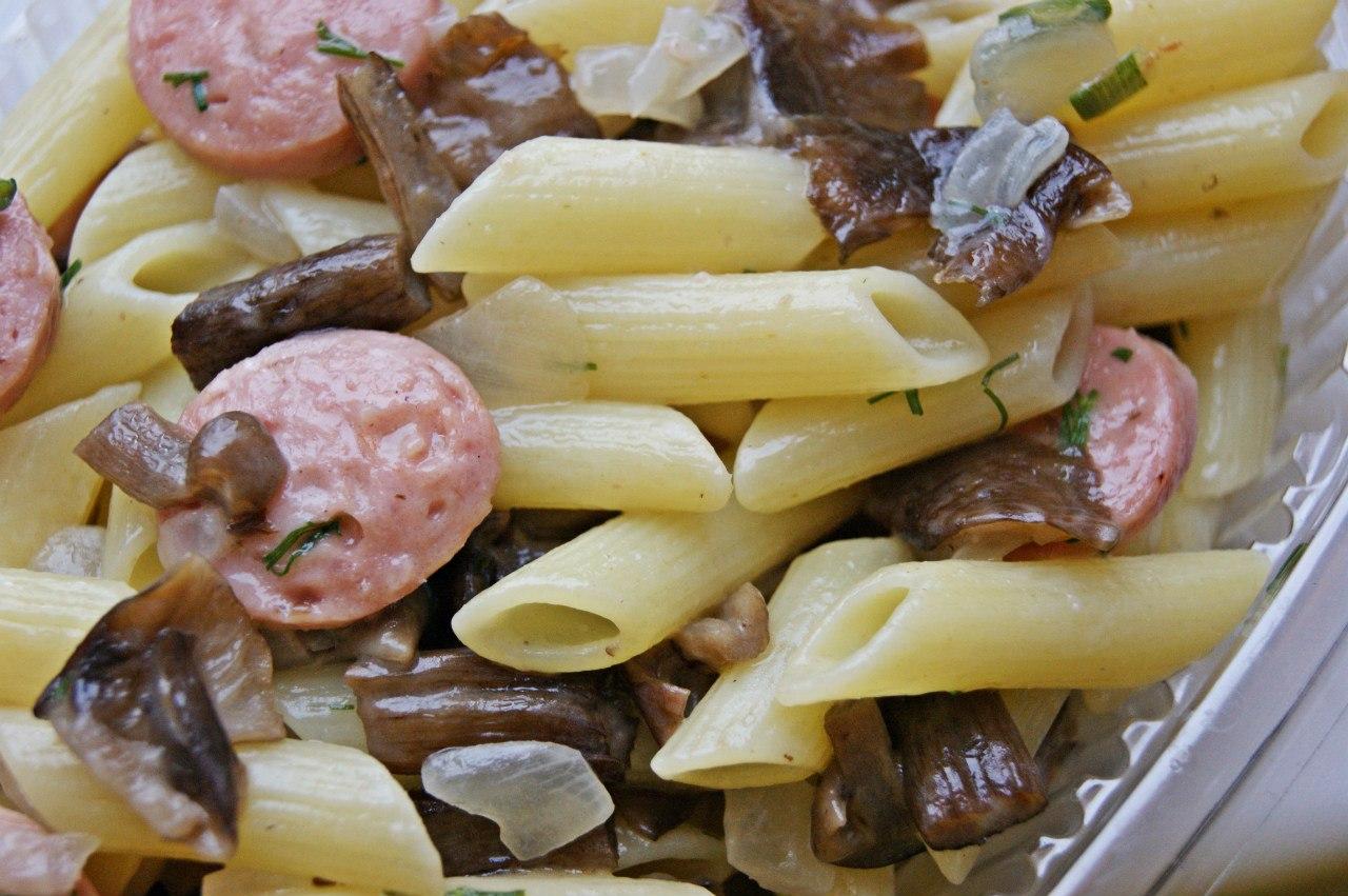 Сосиски и макароны рецепт пошагово