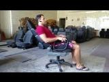 Офисное кресло из сиденья Citroen C1