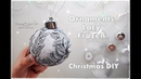 DIY Frozen Lacy Ornaments for Christmas ♡ Maremis Small Art ♡