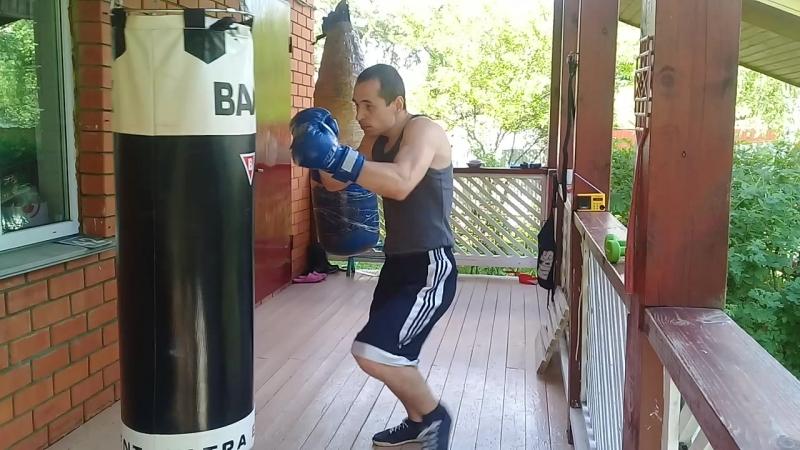боксёрская тренировка😈✌💪😎👊💣✊