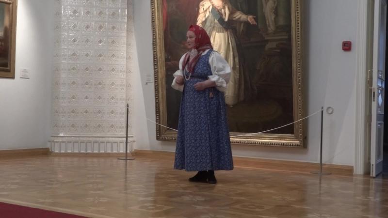 Пинежский Пушкин Б. Шергина в доме Плотниковой 6 июня 2018г.