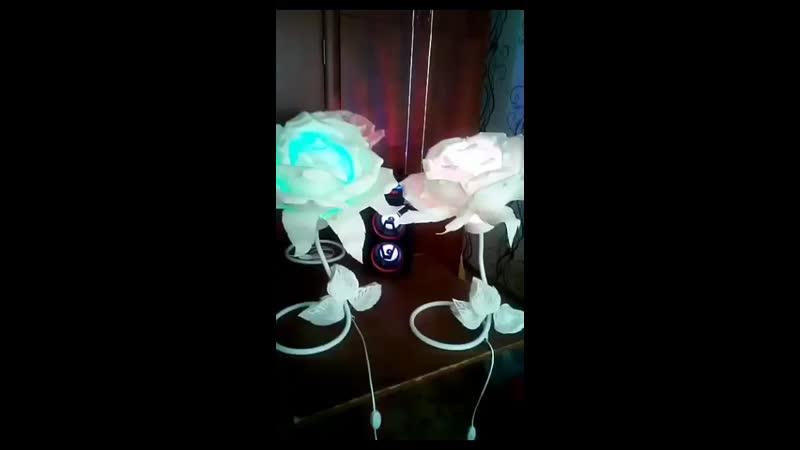 светильники ручной работы на пульте управления