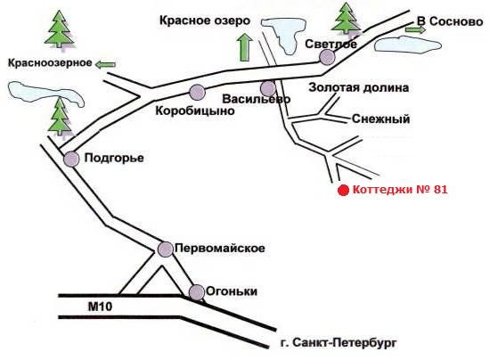 2. автобус СПб-Красное Озеро
