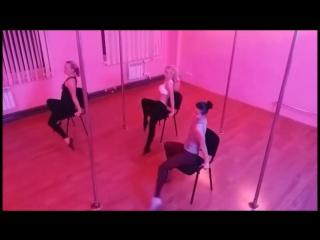 Нежнейшее видео) Chair Dance (танец и акробатика на стуле) / VIP DANCE Studio
