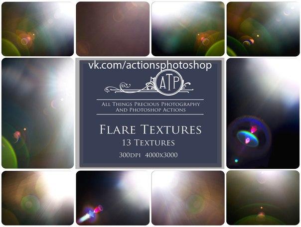 Пресет Flare Textures для lightroom
