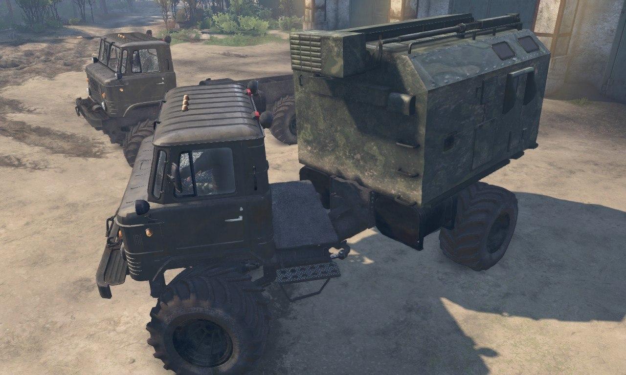 """ГАЗ-66 """"М"""" для 23.10.2015 и 08.11.2015 для Spintires - Скриншот 3"""