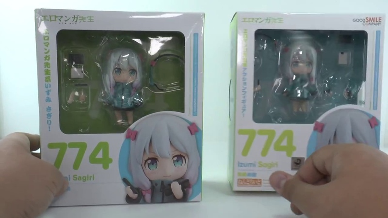 China bootleg Japan original - Nendoroid 774 - Ero Manga-sensei - Izumi Sagiri