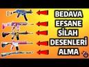 BEDAVA EFSANE SİLAH DESENLERİ ALMA PUBG Mobile JK