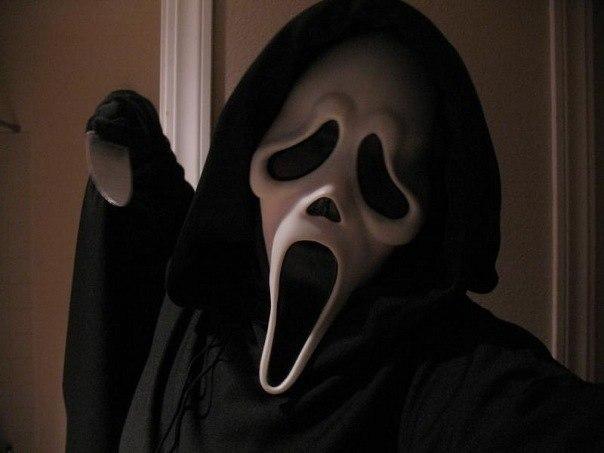 фото маска крик