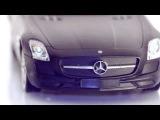 MZ Mersedes Benz SLS AMG 1:14 black matt r/c toys car