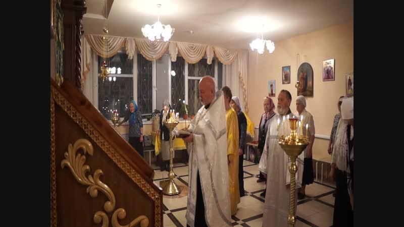Величание Архангелов и Ангелов вся воинства Херувимов и Серафимов20 11 18 г