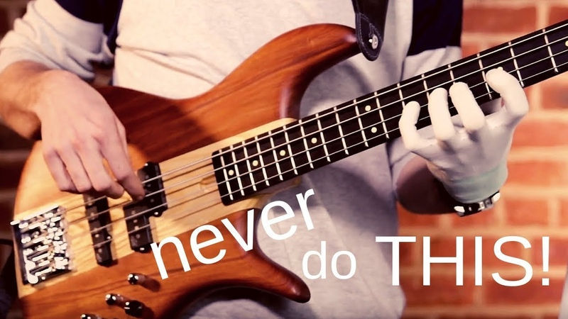 The Top 7 BASS TECHNIQUE FAILS (and how to fix them)