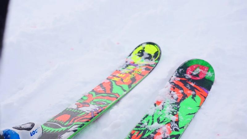 Strogino snowkiting