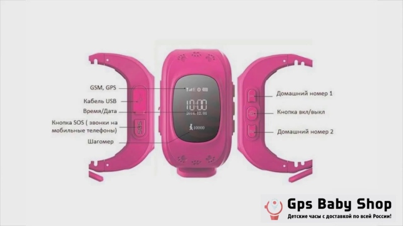 Инструкция по детским часам с GPS baby-gps.pro
