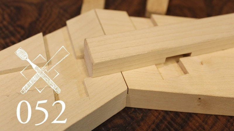 Joint Venture Ep.52: Dovetailed and pinned gable facia Suitsukisan ogami (Japanese Joinery)