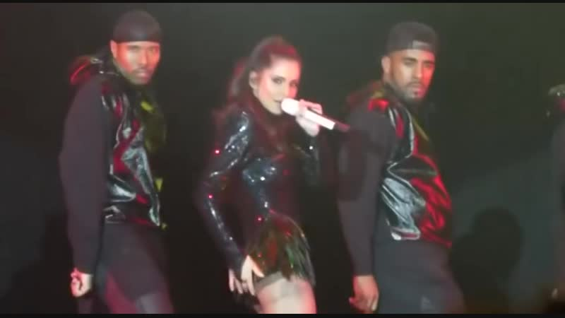 Cheryl Cole onstage Hits radio Live Manchester