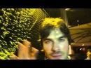Ian Somerhalder no Brasil mandando um Hello para os fãs By Cris Lustosa