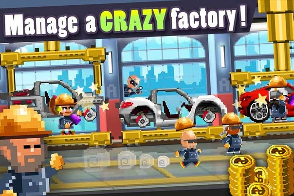 Скачать MOTOR WORLD CAR FACTORY для android