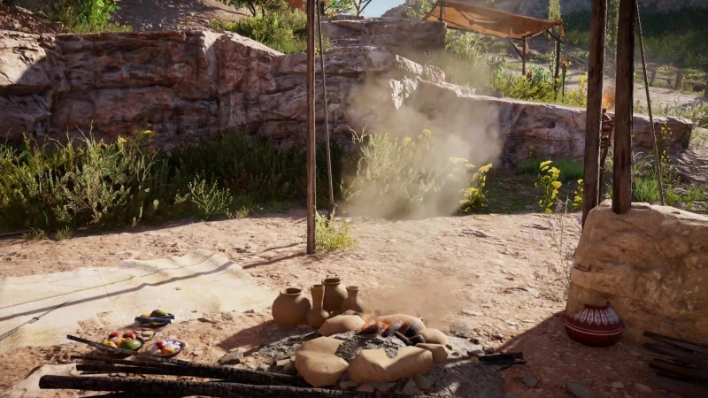 ► Ambience Sound Campfire ¦ Assassins Creed Origins ◄