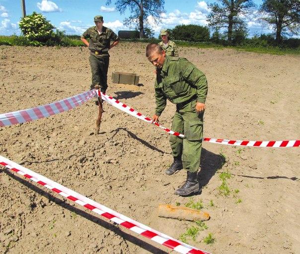 Неманские вести: Снаряд обезвредели