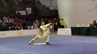 Ян ши тайцзи цзянь - 1 место на Чемпионате мира по тайцзицюань