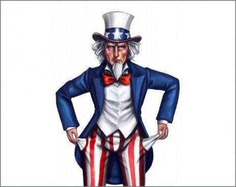 Квартальный ВВП США сократился на 1%