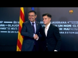 Signing of the contract. Officially the player of Barcelona!