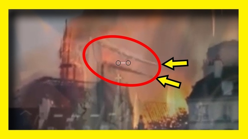 Shocking Notre Dame OVERLAY - Spire Fall Perfectly Predicted 7 Years Ago
