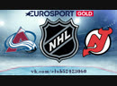 Colorado Avalanche vs New Jersey Devils 18.10.2018 NHL Regular Season 2018-2019 Eurosport Gold RU