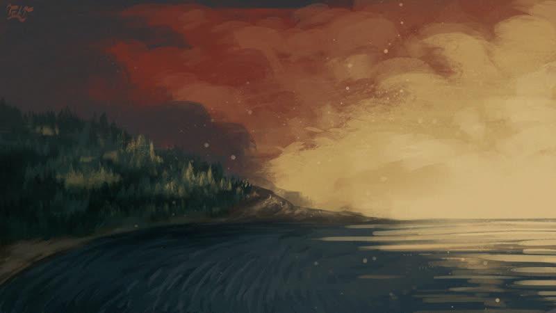 Landscape from the artist TetT