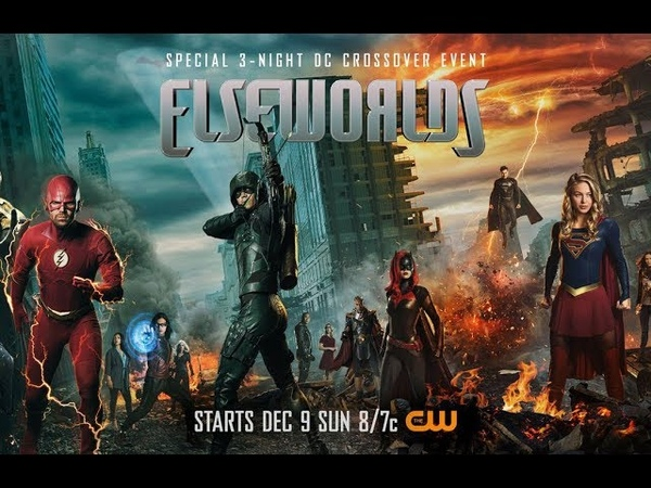 My Review of 'ELSEWORLDS' Part 1   CW's DC Crossover Event