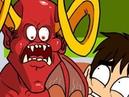 Leo and Satan Algebra Aversion Oney Cartoons