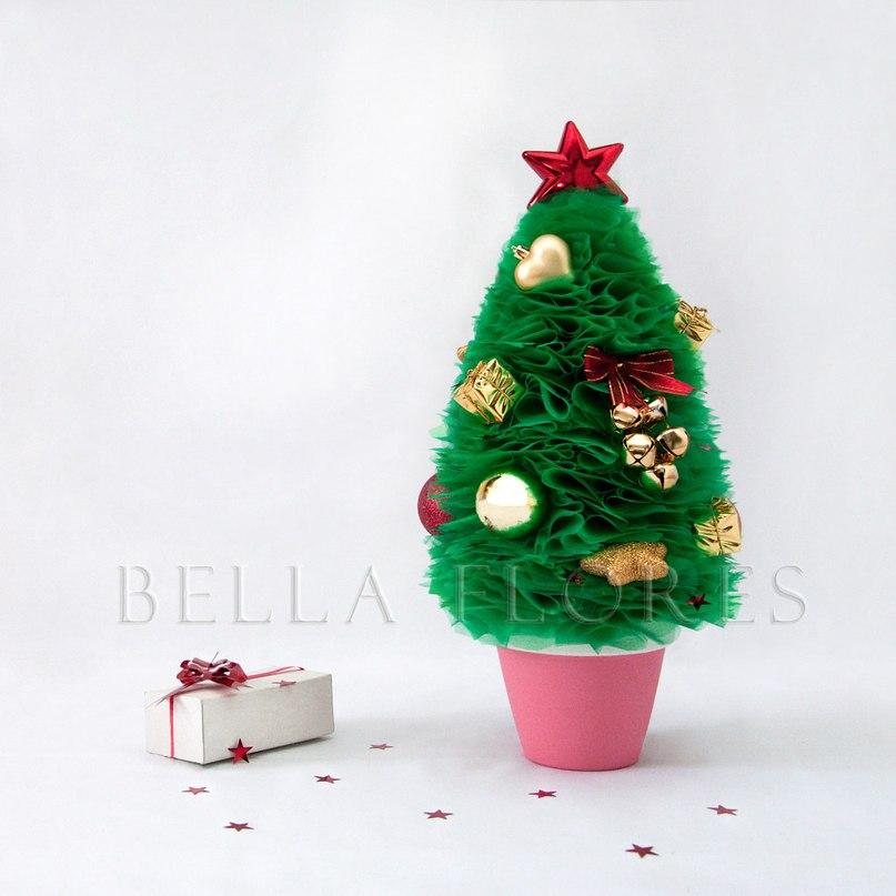 Новогодние елочки топиарии своими руками