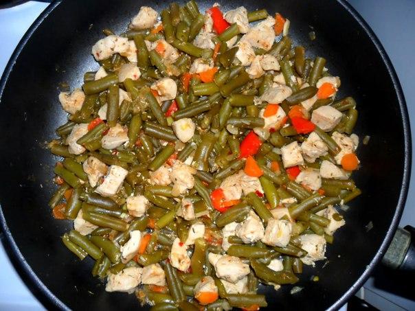 Стручковая фасоль и фасолью рецепт