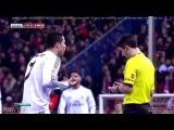 Игрок Атлетико жестко упал на голову после столкновения с Криштиану Роналду